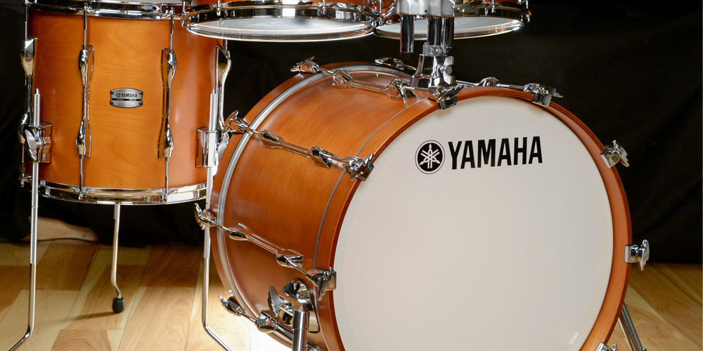NAMM 2016: Yamaha Recording Custom kit, alloy snares, and DTX electronic drums